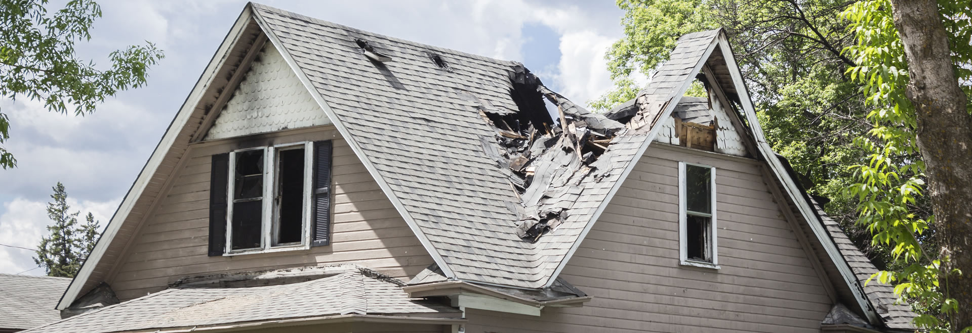 fire damage roof repair monroe ga