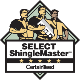 certified Certaineed shinglemaster